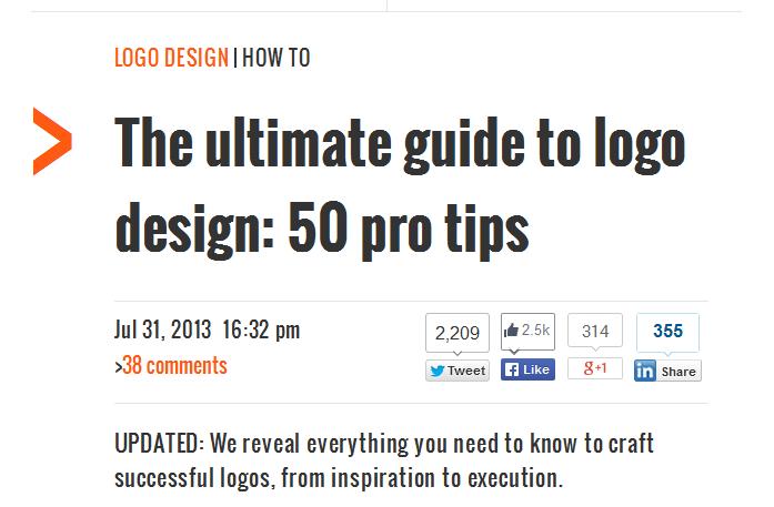 50 pro tips for logo design | Web-Designer Arsenal