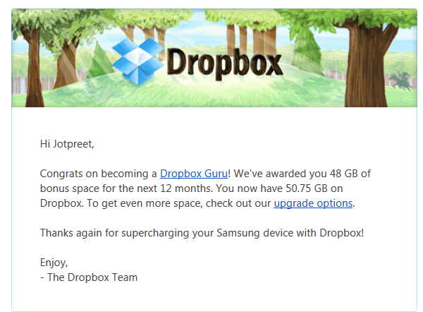 50GB dropbox space | Web-Designer Arsenal