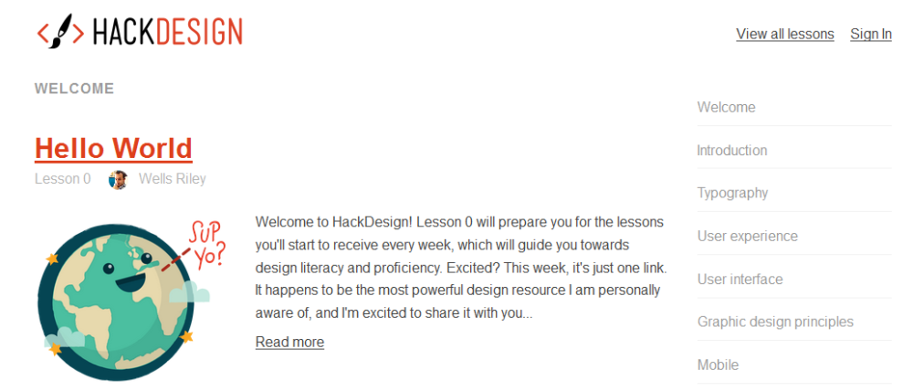 hackdesign courses | Web-Designer Arsenal