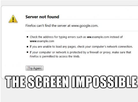 screen impossible | Web-Designer trolls | Web-Designer Arsenal