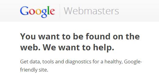 google webmaster tools main website screenshot | Web-Designer Arsenal