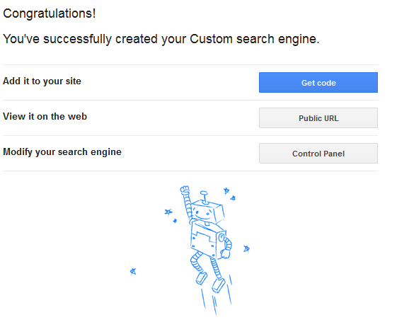 how to setup google custom search for your website step 2 | Web-Designer Arsenal